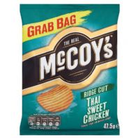 McCoys thick cut Crisps.  36 x 47.5g Thai Sweet Chicken